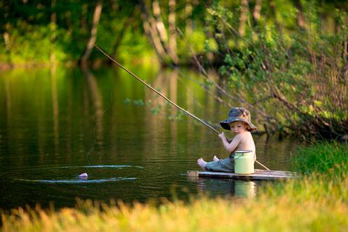 Загадки про рыбака