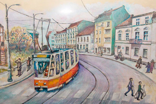 Загадки про трамвай для детей с ответами