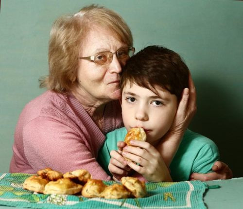 современные бабушки с внуками