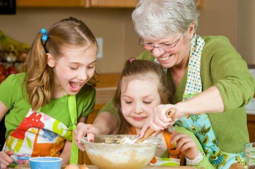 современные бабушки и воспитание