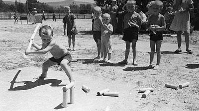 Старые детские игры: городки