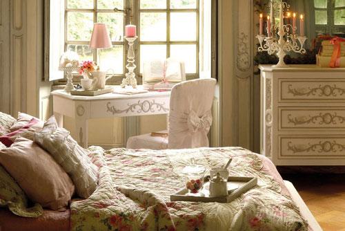 аксессуары спальни в стиле прованс 5
