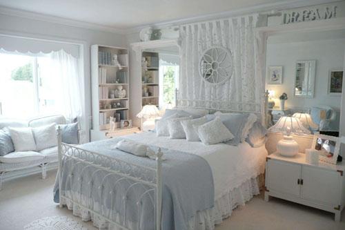 интерьер спальни в стиле прованс 2