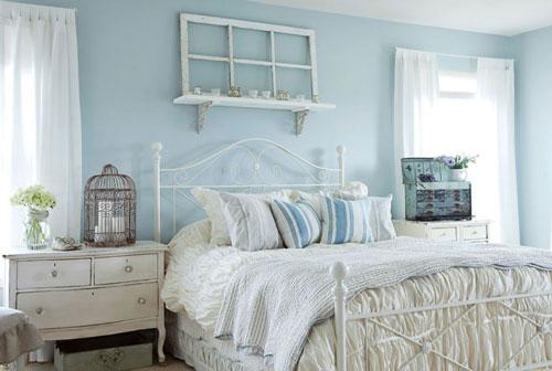 интерьер спальни в стиле прованс 3