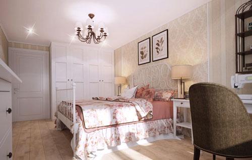 спальни в стиле прованс в доме 3