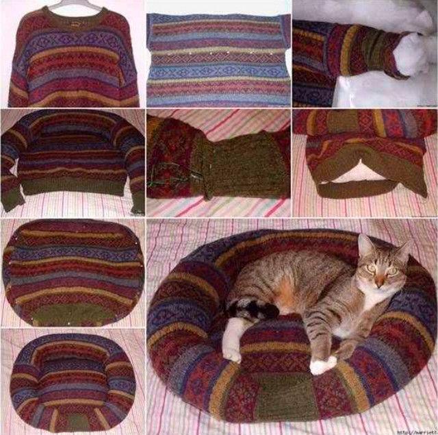 что сделать из старой одежды для животных 3