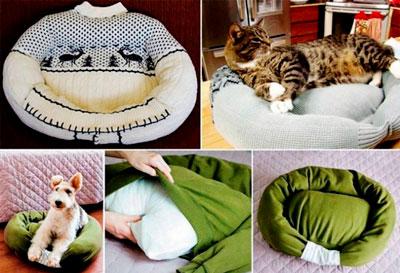 что сделать из старой одежды для животных 4