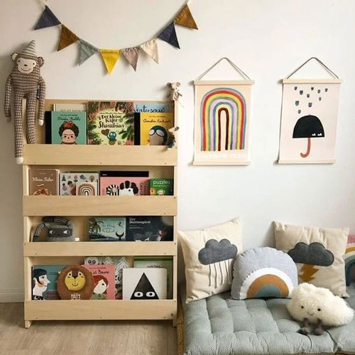декор детской комнаты 4 лет