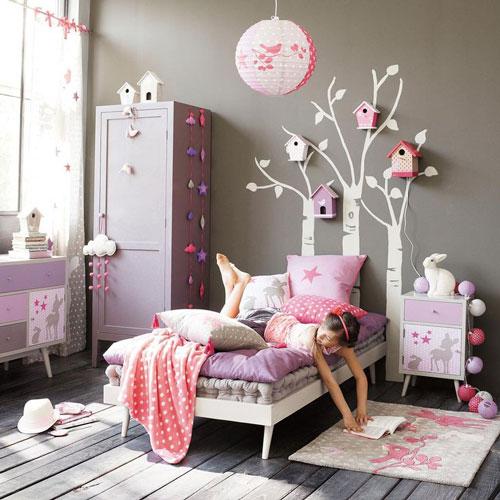 декор в комнате для детей 7 лет