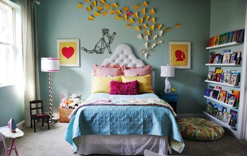 декор в комнате для детей 6 лет
