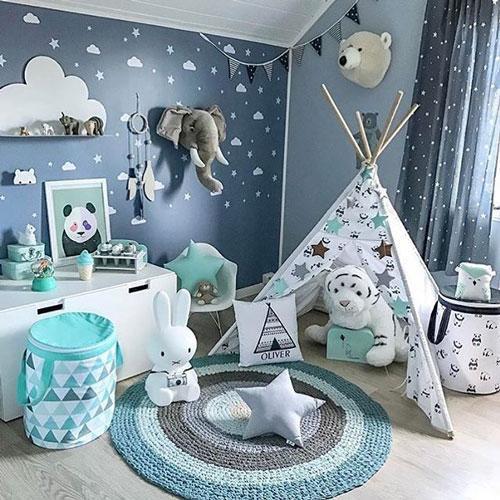 декор в комнате для детей 5 лет