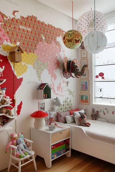 декор в комнате для детей