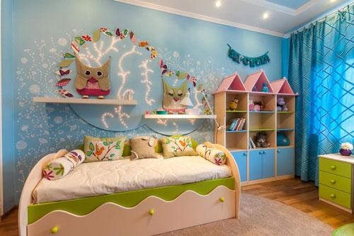 кроватка детская декор 2
