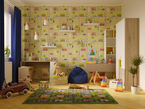 как украсить комнату ребенка 5 лет