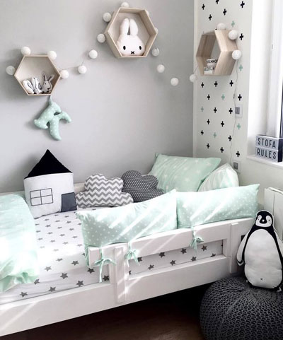 кроватка детская декор 3