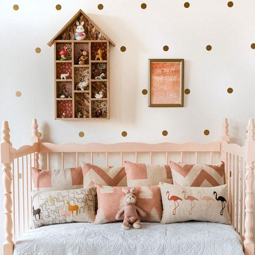 кроватка детская декор 4