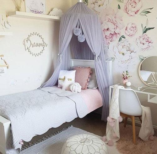 кроватка детская декор 5