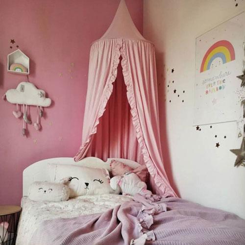 кроватка детская декор 6