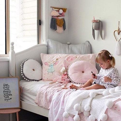 кроватка детская декор