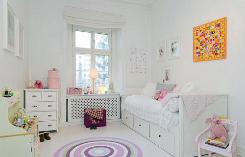 детская комната в белом цвете 3