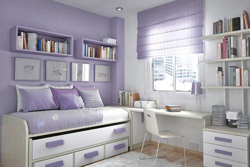 детская комната в фиолетовом цвете 3