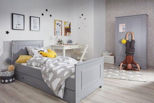 детская комната в сером цвете 2