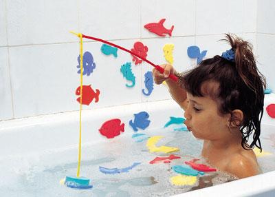 Игры в ванной для детей 1-2 лет