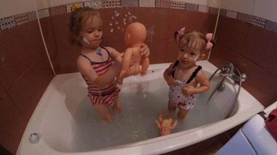 Игры в ванной для детей 3-5 лет