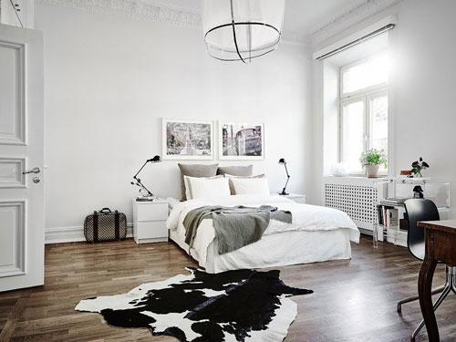 фото интерьера спальни в скандинавском стиле 2