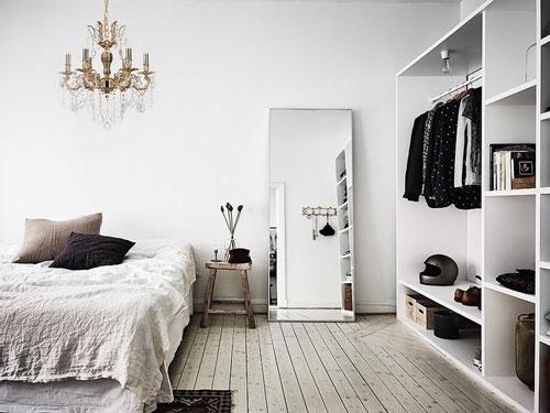 стены в спальне в скандинавском стиле 10