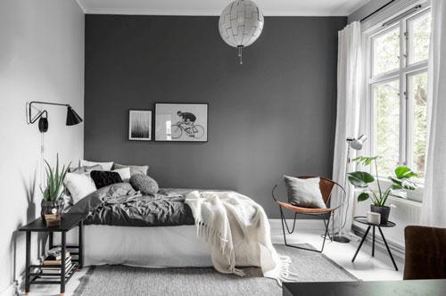стены в спальне в скандинавском стиле 8