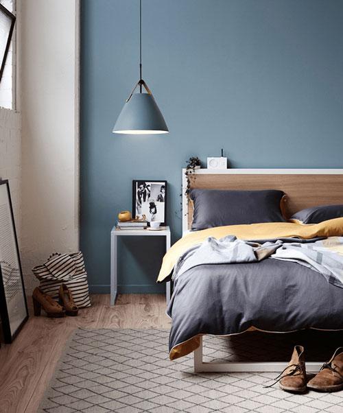 интерьер спальни в скандинавском стиле 9