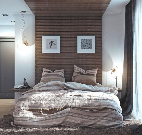 интерьер спальни в скандинавском стиле 8