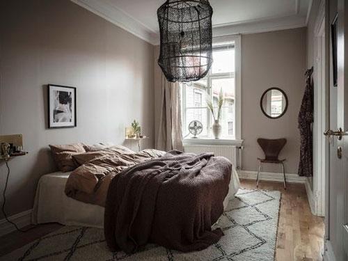 интерьер спальни в скандинавском стиле 5