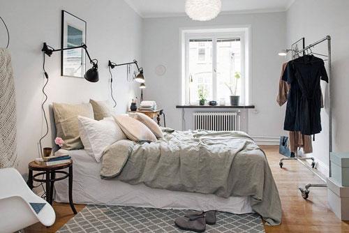 стены в спальне в скандинавском стиле 7
