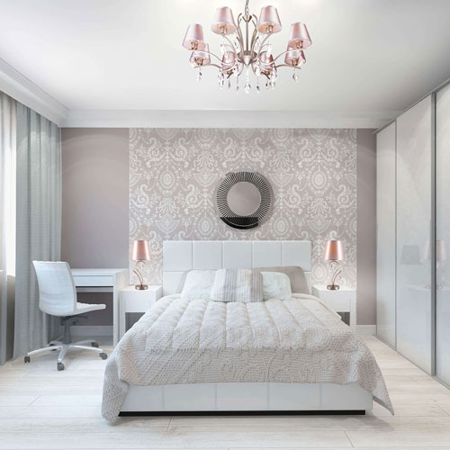 интерьеры маленьких спален в современном стиле 8