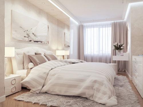 интерьеры маленьких спален в современном стиле 4