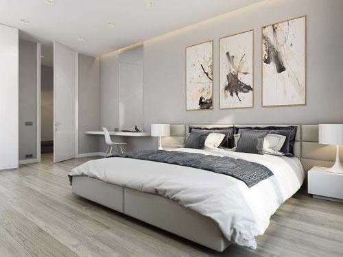 интерьеры маленьких спален в современном стиле 7