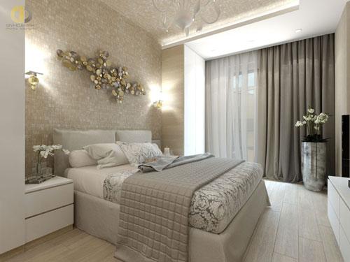 интерьеры маленьких спален в современном стиле 9