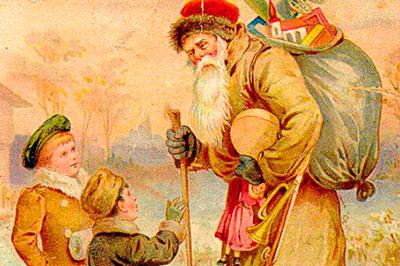 Про деда Мороза и Снегурочку для детей