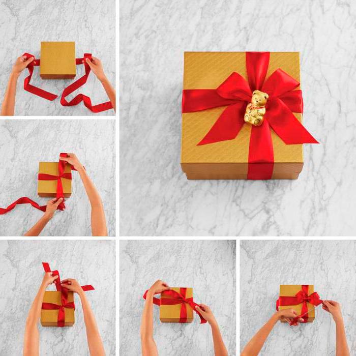 Как красиво упаковать подарки на Новый год 3