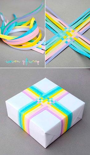 простая и красивая упаковка подарка своими руками на новый год 6