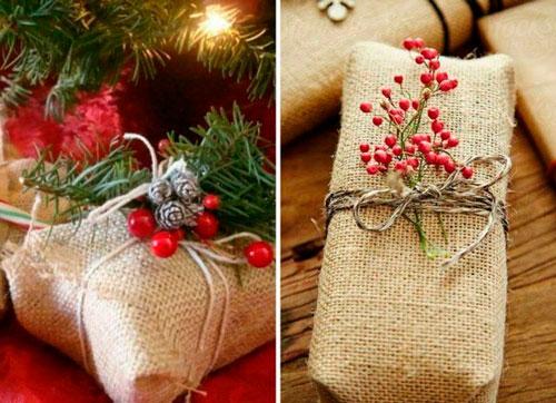 простая и красивая упаковка подарка своими руками на новый год 5