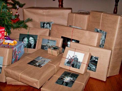 оригинальная упаковка подарка на новый год с фото 2
