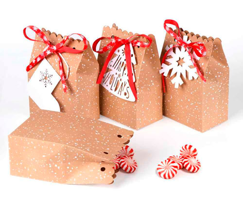 простая и красивая упаковка подарка своими руками на новый год