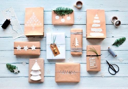простая и красивая упаковка подарка своими руками