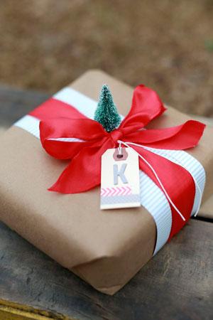 красивая упаковка подарка своими руками на новый год 7