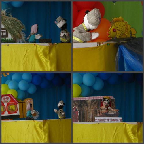 Как организовать дома кукольный театр 1
