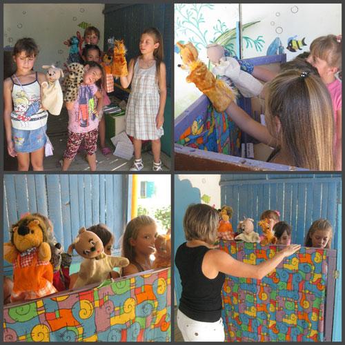 Как организовать дома кукольный театр 3