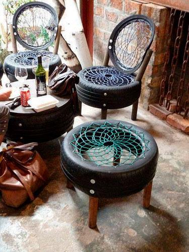 Как сделать из старых вещей новые мебель 5